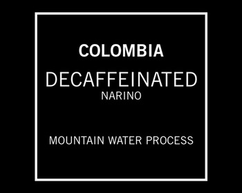Market card temple coffee decaffeinated colombia narino2