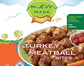 Card image turkey meatballs