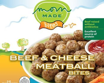 Market card beef and cheese meatball bites