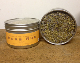 Card image herbes de provence herb rub