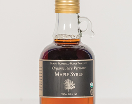 Card image organic 250ml maple syrup