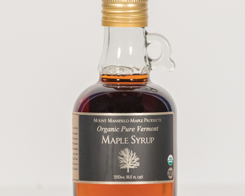 Market card organic 250ml maple syrup