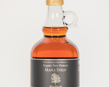 Market card organic 500ml maple syrup