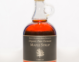 Card image organic liter maple syrup