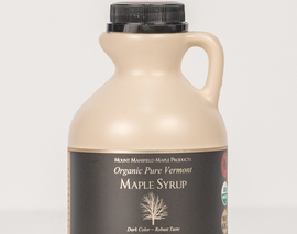 Card image organic pint maple syrup