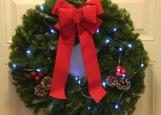 Details wreath with lights  19647.1507042213