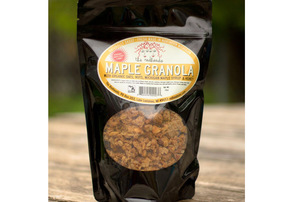 Display maple granola