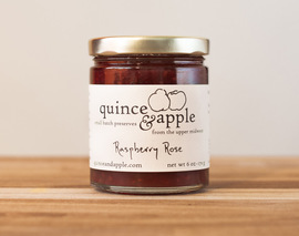Card image raspberry rose preserves