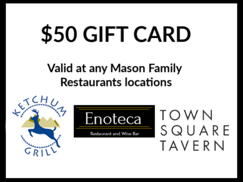 $50 Gift Card: Mason Family Restaurants