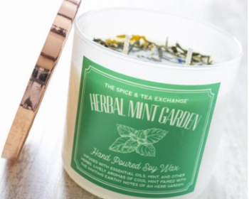 Market card 2019 0926 herbal mint garden candle