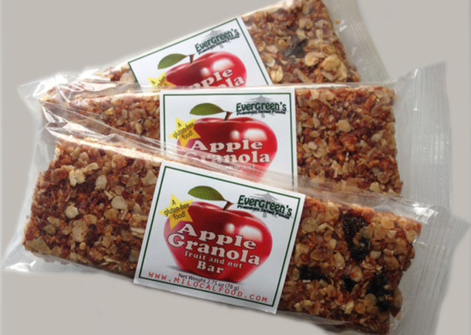 Details apple granola bars