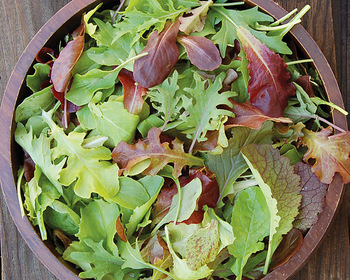Market card mesclun mix