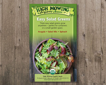 Market card easy salad greens gift box