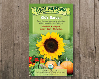 Market card kid s garden gift box