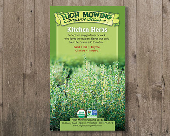 Market card kitchen herbs seed gift box