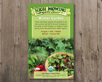 Market card winter garden gift box