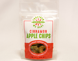 Card image small apple chips