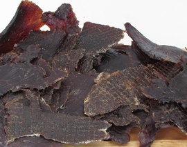 Card image 8oz original beef jerky