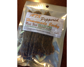 Card image peppered beef jerky