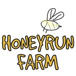 Square honeyrunfarm logo