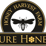 Square honeyharvest farm logo 09.09