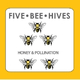 Five Bee Hives